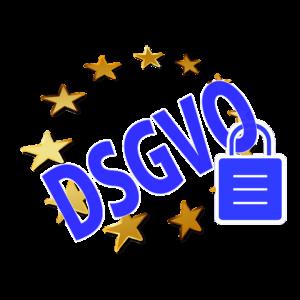 DSGVO mit EU Sternen