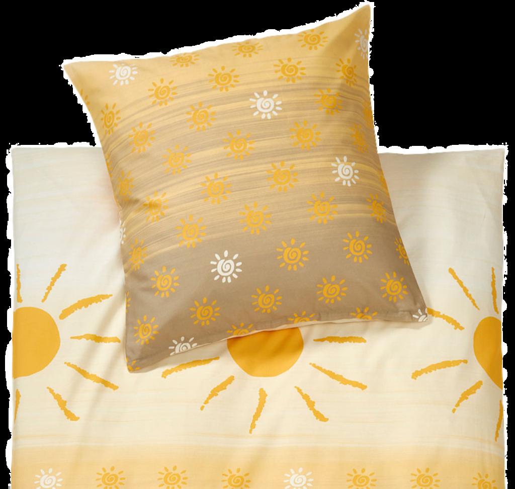 Biber Bettwäsche Sonnenschein