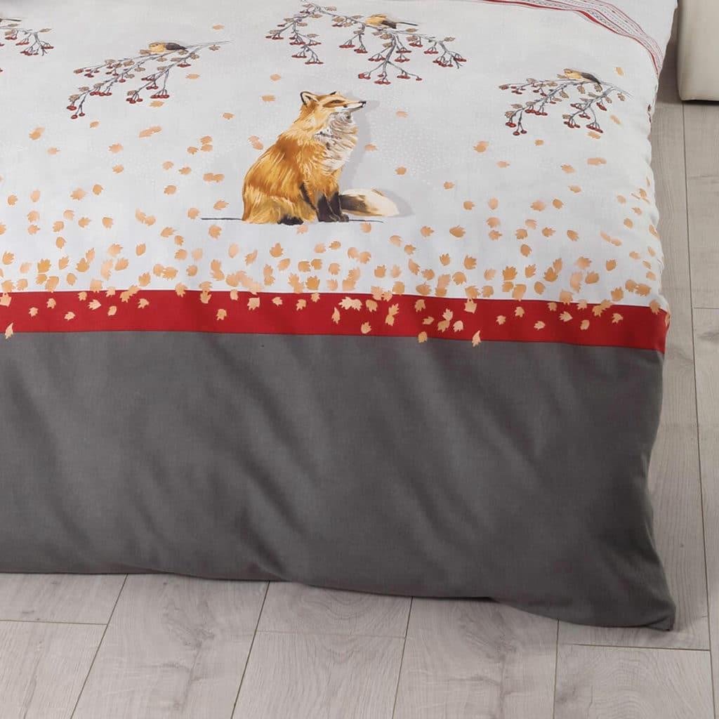 Biber Bettwäsche von Kaeppel mit Füchslein