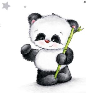 Biberwäsche Panda Jana